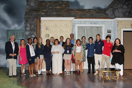 Oxbridge students meet real life authors Jacqueline Mitchard, Dorothea Benton Frank and actress turned author, Molly Ringwald.